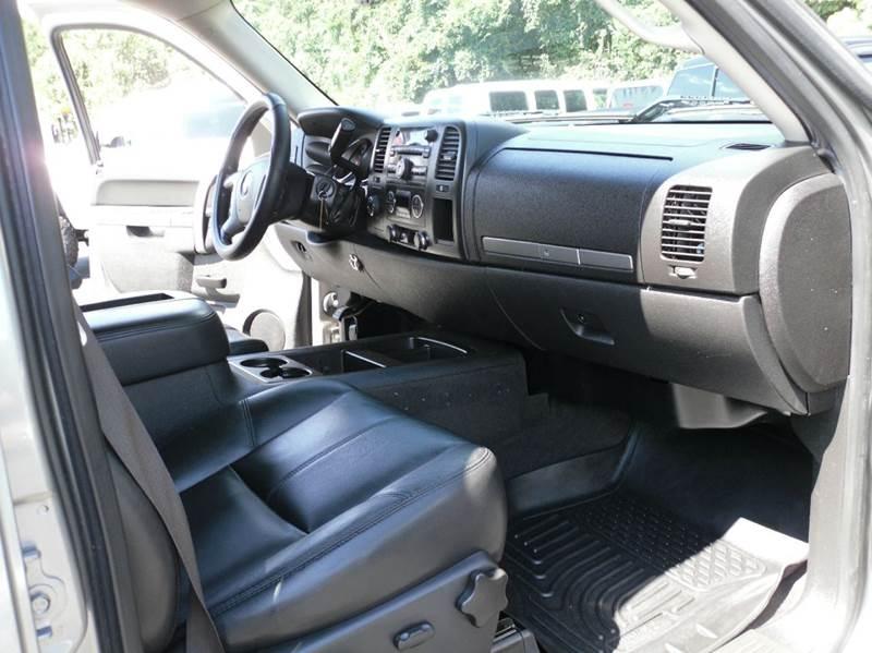 2014 GMC Sierra 2500HD 4x4 SLE 4dr Crew Cab SB - Belmont NC