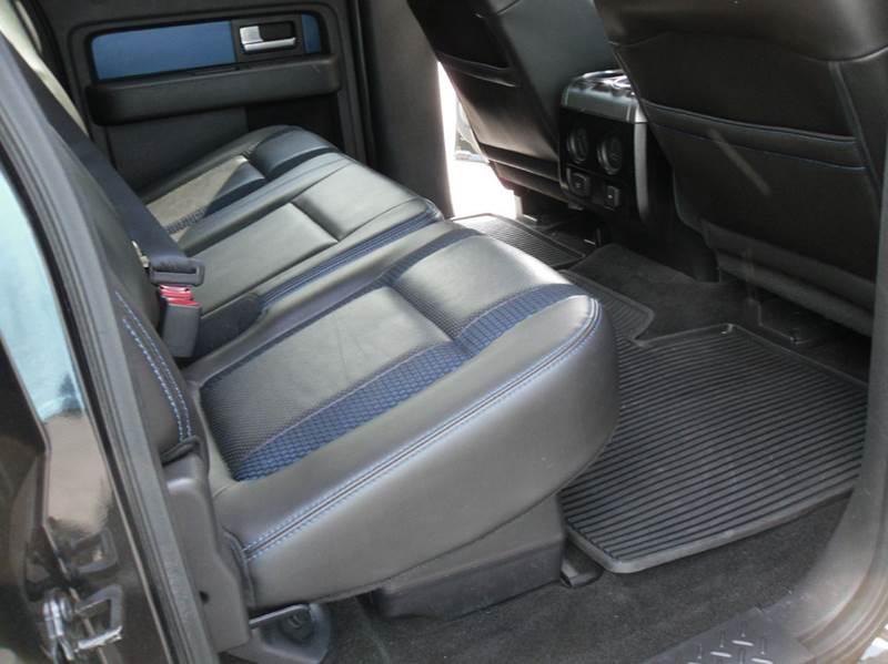 2013 Ford F-150 4x4 SVT Raptor 4dr SuperCrew Styleside 5.5 ft. SB - Belmont NC
