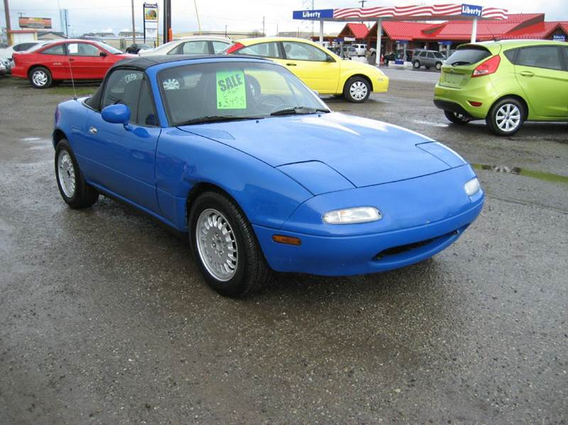 1990 mazda mx 5 miata base 2dr convertible in post falls. Black Bedroom Furniture Sets. Home Design Ideas
