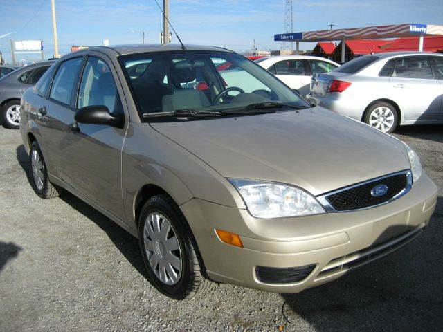 2007 ford focus zx4 s 4dr sedan in post falls id. Black Bedroom Furniture Sets. Home Design Ideas