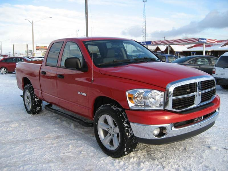 2008 dodge ram pickup 1500 st 4dr quad cab 4wd lb in post falls id stateline auto sales. Black Bedroom Furniture Sets. Home Design Ideas