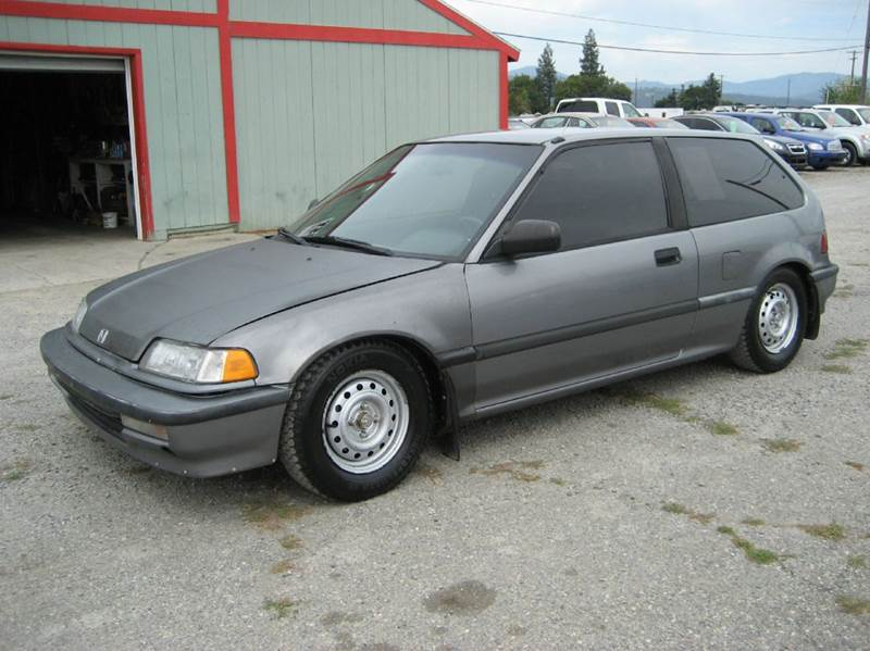 1991 honda civic dx 2dr hatchback in post falls id. Black Bedroom Furniture Sets. Home Design Ideas