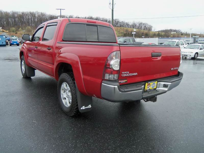 2013 Toyota Tacoma 4x4 V6 4dr Double Cab 5.0 ft SB 5A - Staunton VA