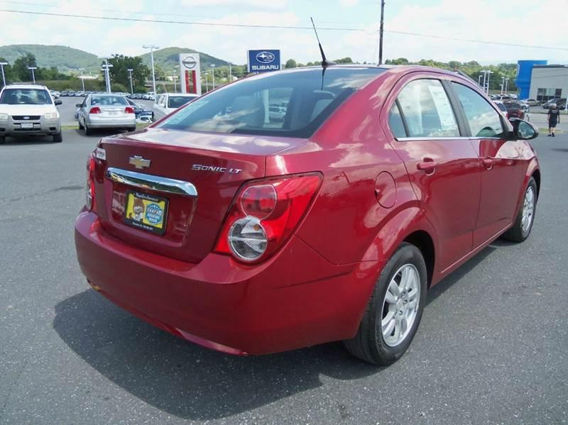 2012 Chevrolet Sonic LT 4dr Sedan w/2LT - Staunton VA