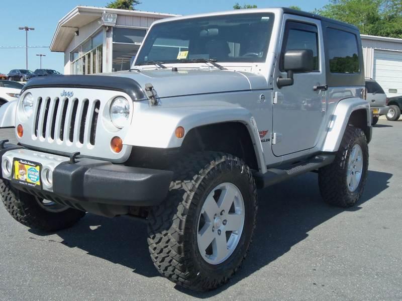 2010 Jeep Wrangler 4x4 Sahara 2dr SUV - Staunton VA