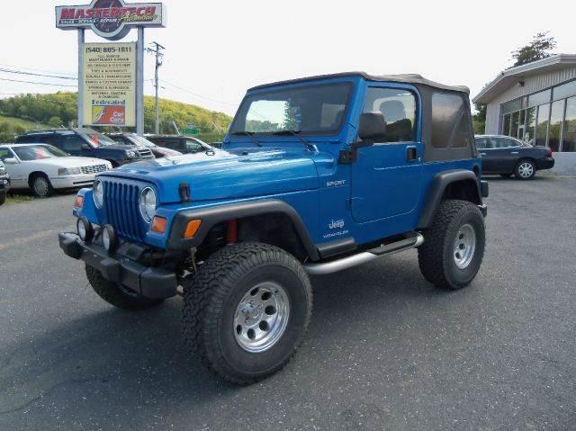 2003 jeep wrangler for sale in staunton va for Southeast motors middleboro ma