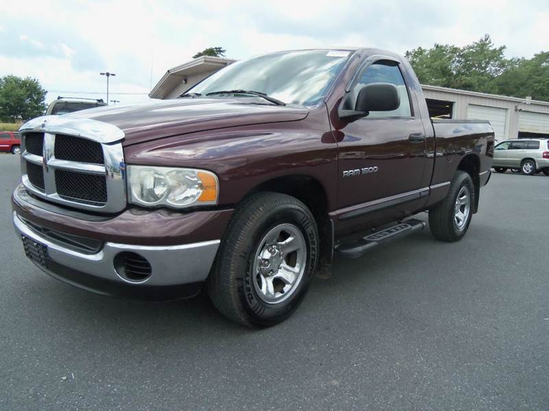 2005 dodge ram pickup 1500 2dr regular cab st rwd sb in staunton va mastertech automotive. Black Bedroom Furniture Sets. Home Design Ideas