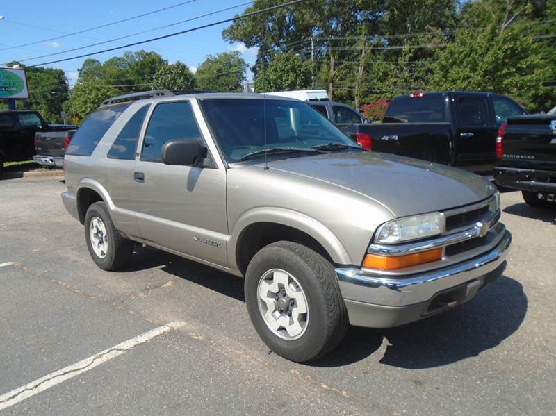2003 chevrolet blazer ls 4wd 2dr suv in virginia beach va. Black Bedroom Furniture Sets. Home Design Ideas