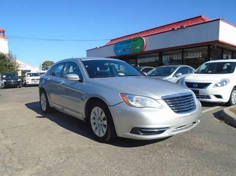 2012 Chrysler 200 for sale in Virginia Beach, VA