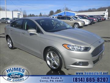 2015 Ford Fusion for sale in Corry, PA