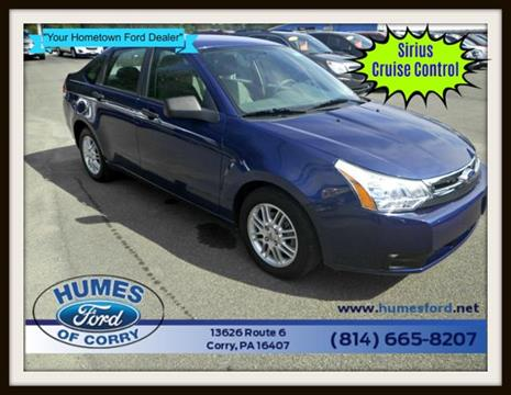 2009 Ford Focus for sale in Corry, PA
