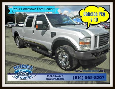 2009 Ford F-250 Super Duty for sale in Corry, PA