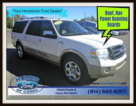 2013 Ford Expedition EL for sale in Corry, PA