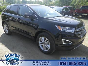 2016 Ford Edge for sale in Corry, PA
