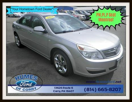 2008 Saturn Aura for sale in Corry, PA