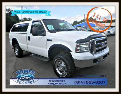 2007 Ford F-250 Super Duty for sale in Corry, PA