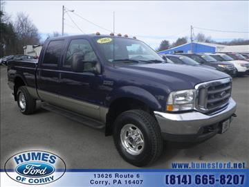 2002 Ford F-250 Super Duty for sale in Corry, PA