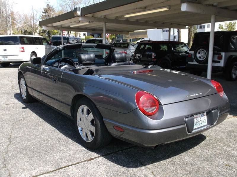 2003 Ford Thunderbird Deluxe 2dr Convertible - Kirkland WA