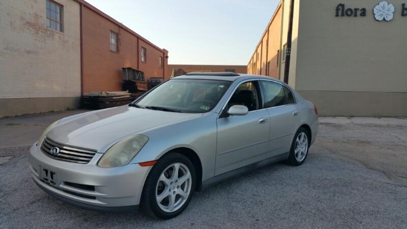 Infiniti G35 For Sale In Dallas Tx Carsforsale Com