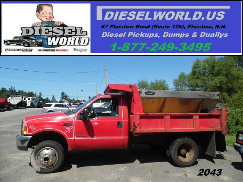 2000 ford f 450 super duty in plaistow nh diesel world. Black Bedroom Furniture Sets. Home Design Ideas
