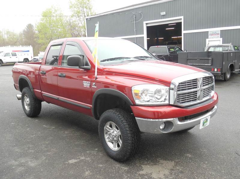 2007 dodge ram pickup 2500 laramie 4dr quad cab 4x4 sb in plaistow nh diesel world truck sales. Black Bedroom Furniture Sets. Home Design Ideas