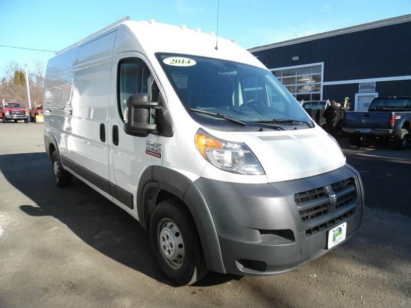 2014 ram promaster cargo 2500 159 wb 3dr high roof cargo van in plaistow nh diesel world truck. Black Bedroom Furniture Sets. Home Design Ideas