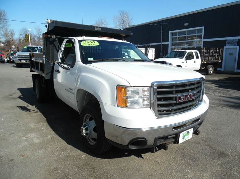 2008 gmc sierra 3500hd cc diesel dump truck in plaistow nh. Black Bedroom Furniture Sets. Home Design Ideas