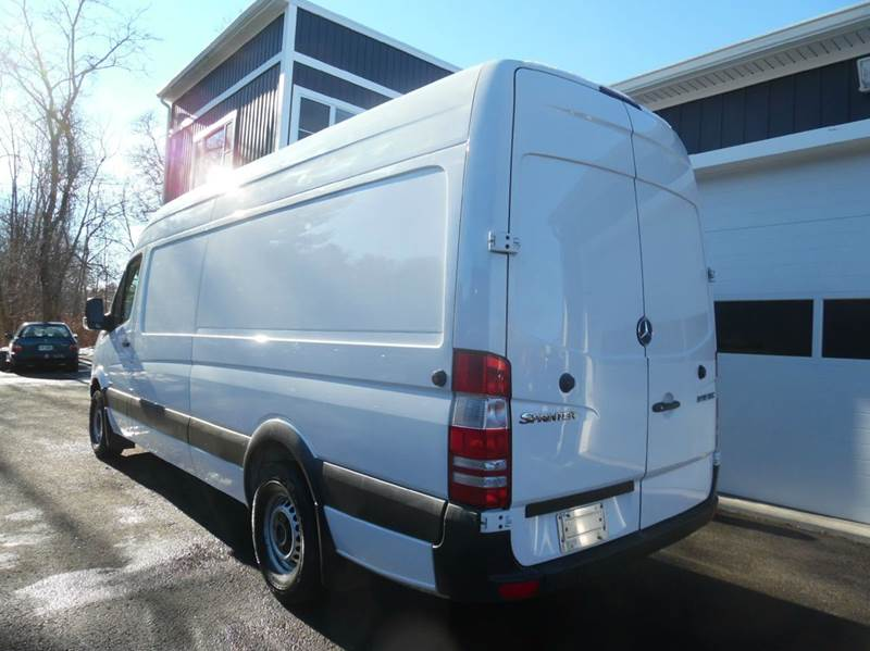2013 mercedes benz sprinter cargo 2500 170 wb 3dr extended for Mercedes benz sprinter 2500 mpg