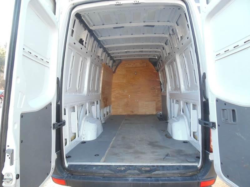 2013 mercedes benz sprinter cargo 2500 170 wb 3dr extended for Mercedes benz sprinter extended cargo van