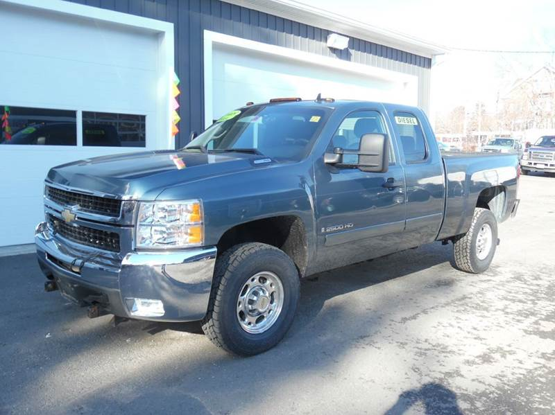 2008 chevrolet silverado 2500hd 4wd lt1 4dr extended cab sb in plaistow nh diesel world truck. Black Bedroom Furniture Sets. Home Design Ideas