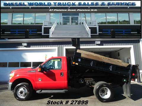 2012 Ford F-350 Super Duty for sale in Plaistow, NH