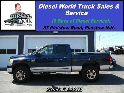 2007 Dodge Ram Pickup 2500 for sale in Plaistow, NH