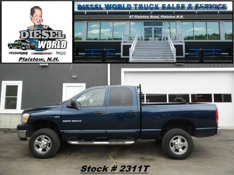 2006 Dodge Ram Pickup 2500 for sale in Plaistow, NH