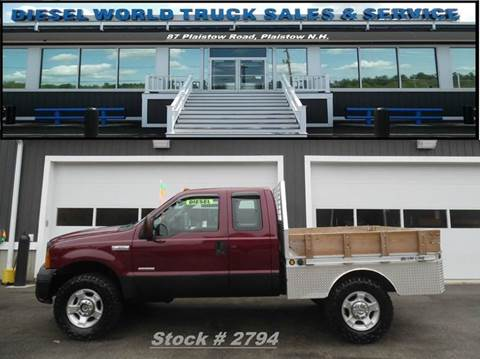 2007 Ford F-350 Super Duty for sale in Plaistow, NH