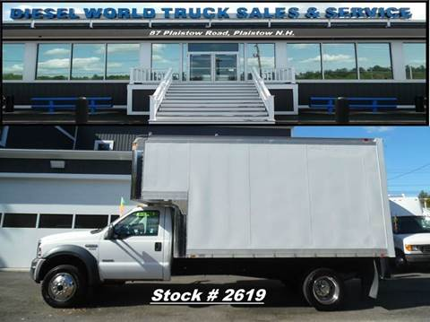 2006 Ford F550 SUPER DUTY for sale in Plaistow, NH