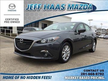2016 Mazda MAZDA3 for sale in Houston, TX