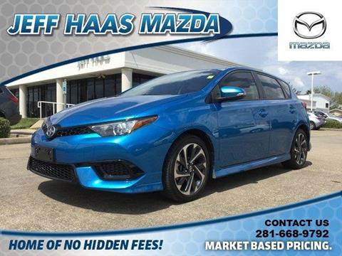 2016 Scion iM for sale in Houston, TX