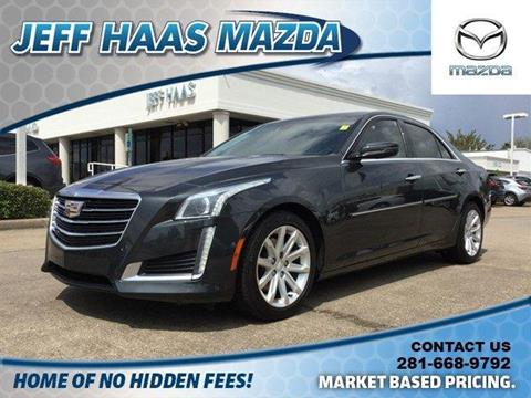 2015 Cadillac CTS for sale in Houston, TX