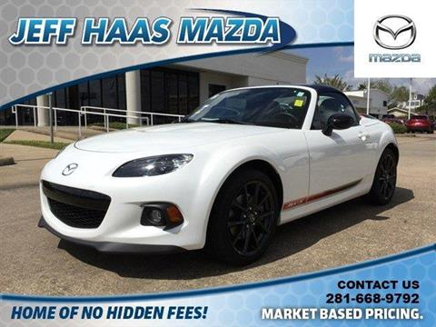 2014 Mazda MX-5 Miata for sale in Houston, TX