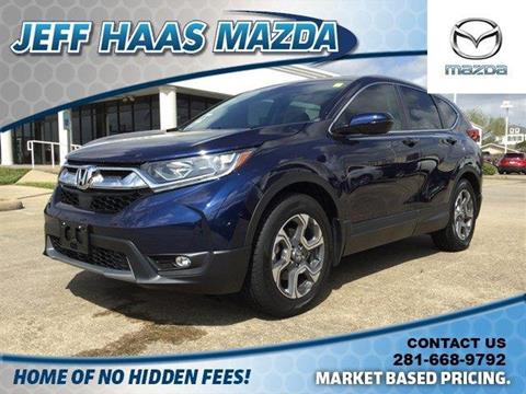 2017 Honda CR-V for sale in Houston, TX