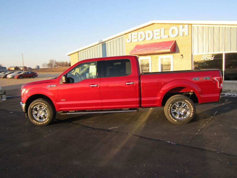2017 ford f 150 4x4 xlt 4dr supercrew 6 5 ft sb in sibley ia jeddeloh ford inc. Black Bedroom Furniture Sets. Home Design Ideas