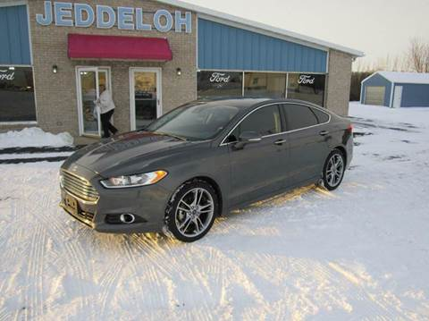 2016 Ford Fusion for sale in Sibley, IA
