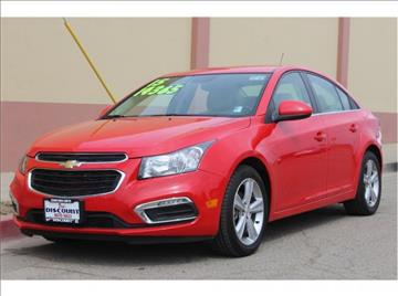2015 Chevrolet Cruze for sale in Visalia, CA