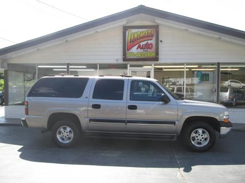 2001 Chevrolet Suburban for sale in Hiram, GA