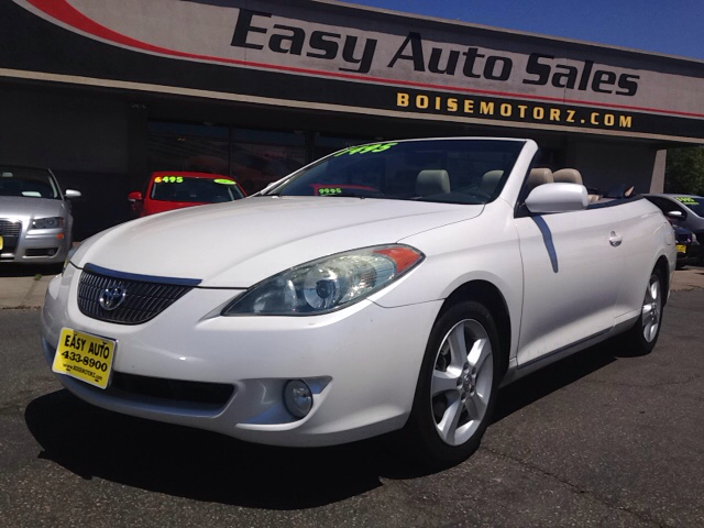 2005 toyota camry solara sle v6 2dr convertible in boise. Black Bedroom Furniture Sets. Home Design Ideas