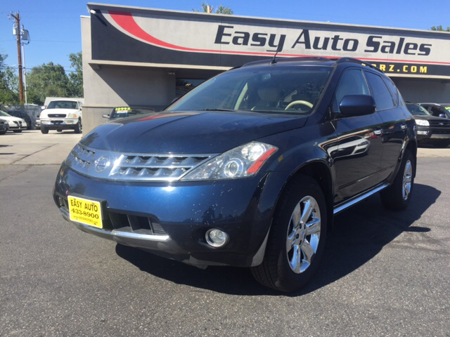 2006 nissan murano awd sl 4dr suv in boise id easy auto sales. Black Bedroom Furniture Sets. Home Design Ideas