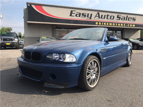 2002 BMW M3 for sale in Boise, ID