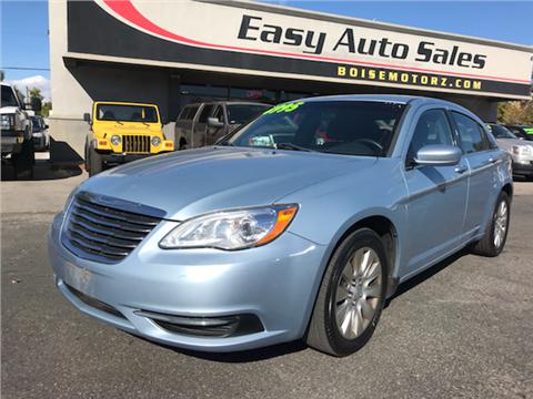 2012 Chrysler 200 for sale in Boise, ID