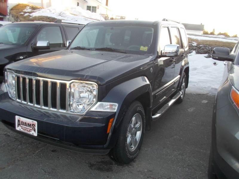 2012 jeep liberty 4x4 sport 4dr suv in hermon me adams automotive. Black Bedroom Furniture Sets. Home Design Ideas