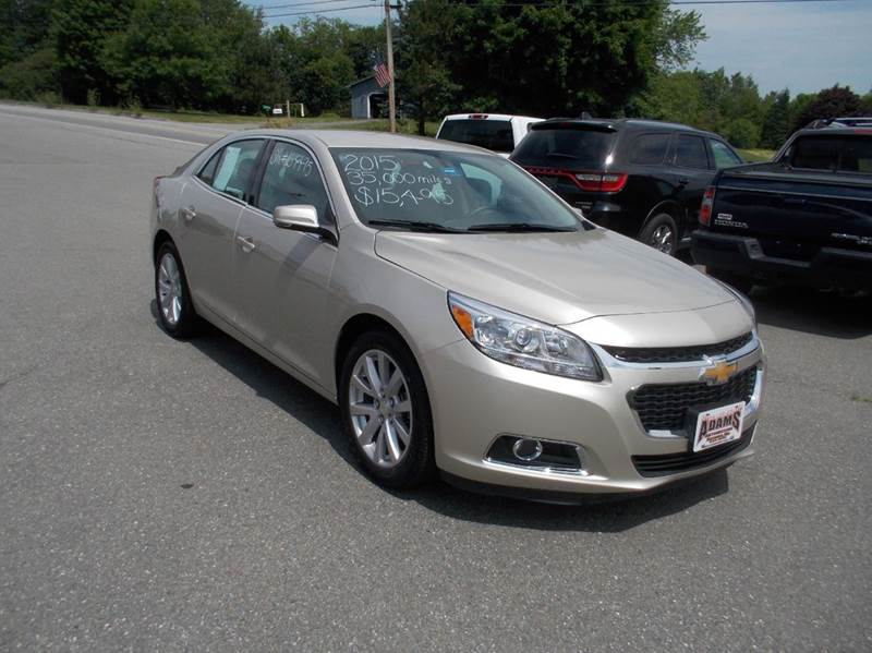 2015 chevrolet malibu lt 4dr sedan w 2lt in hermon me. Black Bedroom Furniture Sets. Home Design Ideas